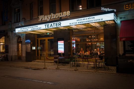 Playhouse Teater, Collaboration with Sillren Arkitekter.